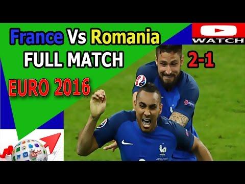 PHÁP Vs Romania 2-1 All Goals - Full Highlights EURO 2016