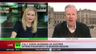 Austria in row with Italy as Vienna offers passports to Italian region