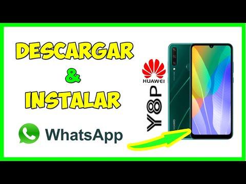 Como instalar WhatsApp en Huawei Y8p, cómo bajar un whatsapp para huawei y8p