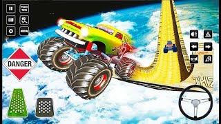 Monster Truck Grand GT Mega Ramp Stunt Games 2019 - 4x4 Big Car Games - Android GamePlay
