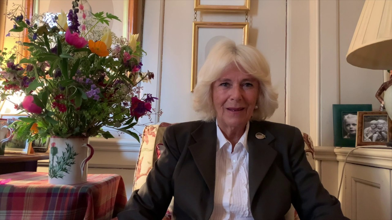 Message of support for British Flowers Week from The Duchess of Cornwall