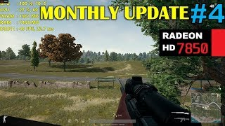 HD 7850 / R7 265   Playerunknown's Battlegrounds - 1080p Very Low