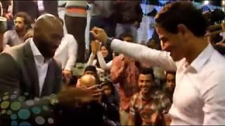 رقص توفيق الجنونى مع شيكابالا فى فرح باسم مرسى
