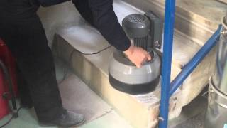 Cerlift Bee 290 Trio Compact Mermer-Granit ve Basamak Silim ve Cilalama Makinesi Video