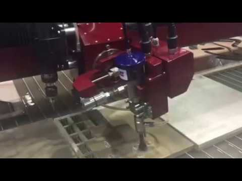3 4 Aluminium 5 axis Waterjet USA Suprema DX 510 with Edge5