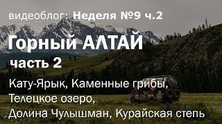 Путешествие по Горному Алтаю на Газель 4х4. Неделя 9: Кату-Ярык, Телецкое озеро, долина Чулышмана