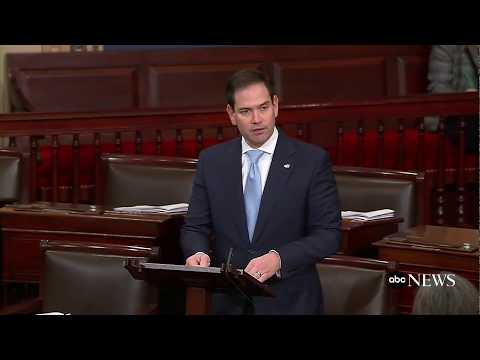 Sen. Marco Rubio discusses plans to stop mass shootings on the senate floor | ABC News