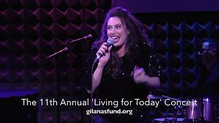 "The 11th Annual ""Living for Today"" Concert: Lesli Margherita, ""Ring Them Bells"""