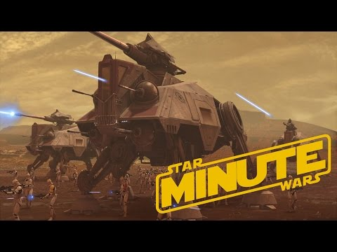 AT-TE (Canon) - Star Wars Minute