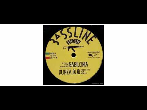 "Mr Dill Lion Warriah / Pressure Dub Sound - I Love Jah / Babylonia - 10"" - Bassline Records"