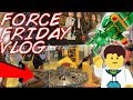 Force Friday 2017 LEGO Store Vlog! | NEW LEGO Star Wars Sets! | Just2Good & BrickWorldsVlogs!