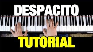 HOW TO PLAY DESPACITO ON PIANO (STEP BY STEP) - LUIS FONSI FT. DADDY YANKEE