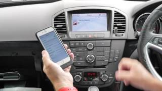How to pair your phone to the bluetooth handsfree system in a 2011 11 VAUXHALL INSIGNIA 2 8T V6 4X4
