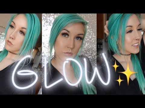 Natural/Glowy AF/Everyday VEGAN Makeup For Oily Skin | veganbeautyaddict thumbnail