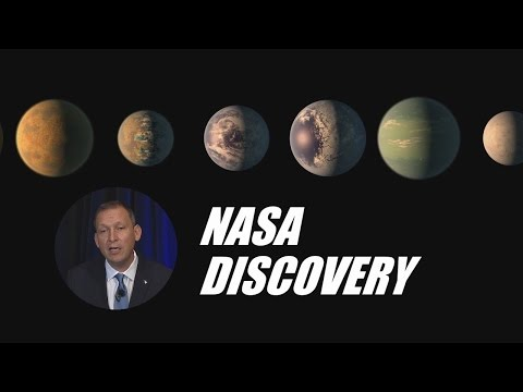 NASA Announces Big Exoplanet Discovery (Feb. 22, 2017)