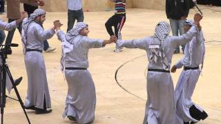 Uniting in Diversity Open Day and Fair - Spontaneous Group Dabke - Peace Corps Jordan Thumbnail