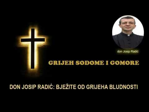 BJEŽITE OD GRIJEHA BLUDNOSTI - don Josip Radić
