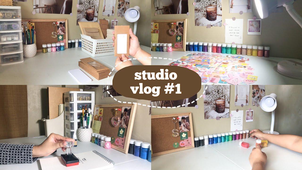 Studio Vlog #1 | New Packaging, New Materials, Logo Stamp