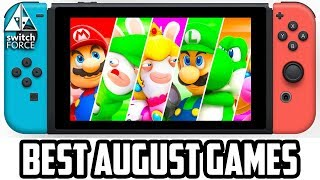 Top 5 New Switch Games You NEED in August 2017!!