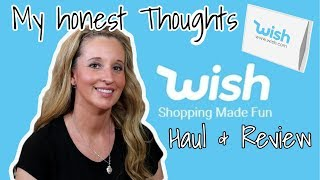 WISH Clothing HAUL | REVIEW | Online DISCOUNT Clothing Haul