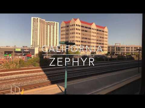 Amtrak's California Zephyr in 4K PART 1