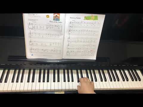 runaway-rabbit--piano-adventures-level-1,lesson-book---eugene-lee
