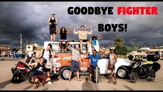 Foreign VLOGGERS Say Goodbye In The PHILIPPINES (Fighter Boys Leave)