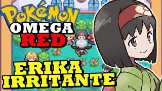 Pokémon Omega Red (Detonado Hack Rom - Parte 11) - Ginásio da Erika!
