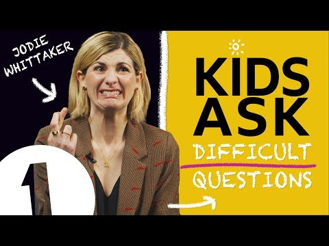 """""""I would beat Iron Man"""": Kids Ask Jodie Whittaker Difficult Questions"""
