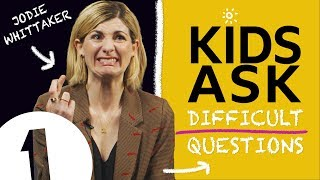 """I would beat Iron Man"": Kids Ask Jodie Whittaker Difficult Questions"