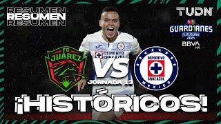 Resumen y goles   FC Juárez vs Cruz Azul   Torneo Guard1anes 2021 BBVA MX - J13   TUDN