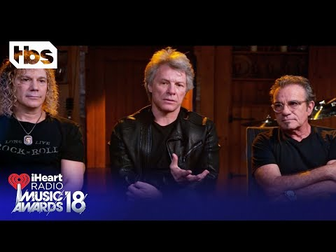 Shaun White Introduces Bon Jovi for Icon of the Year: 2018 iHeartRadio Music Awards | TBS
