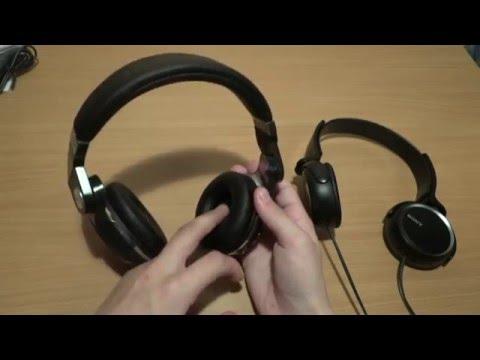 Наушники Bluedio и Sony (посылка с AliExpress)