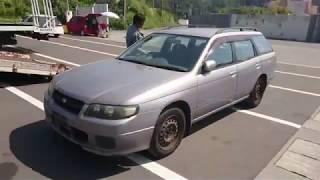 Видео-тест автомобиля Nissan Avenir (W11-051432, Qg18de, 2000г)