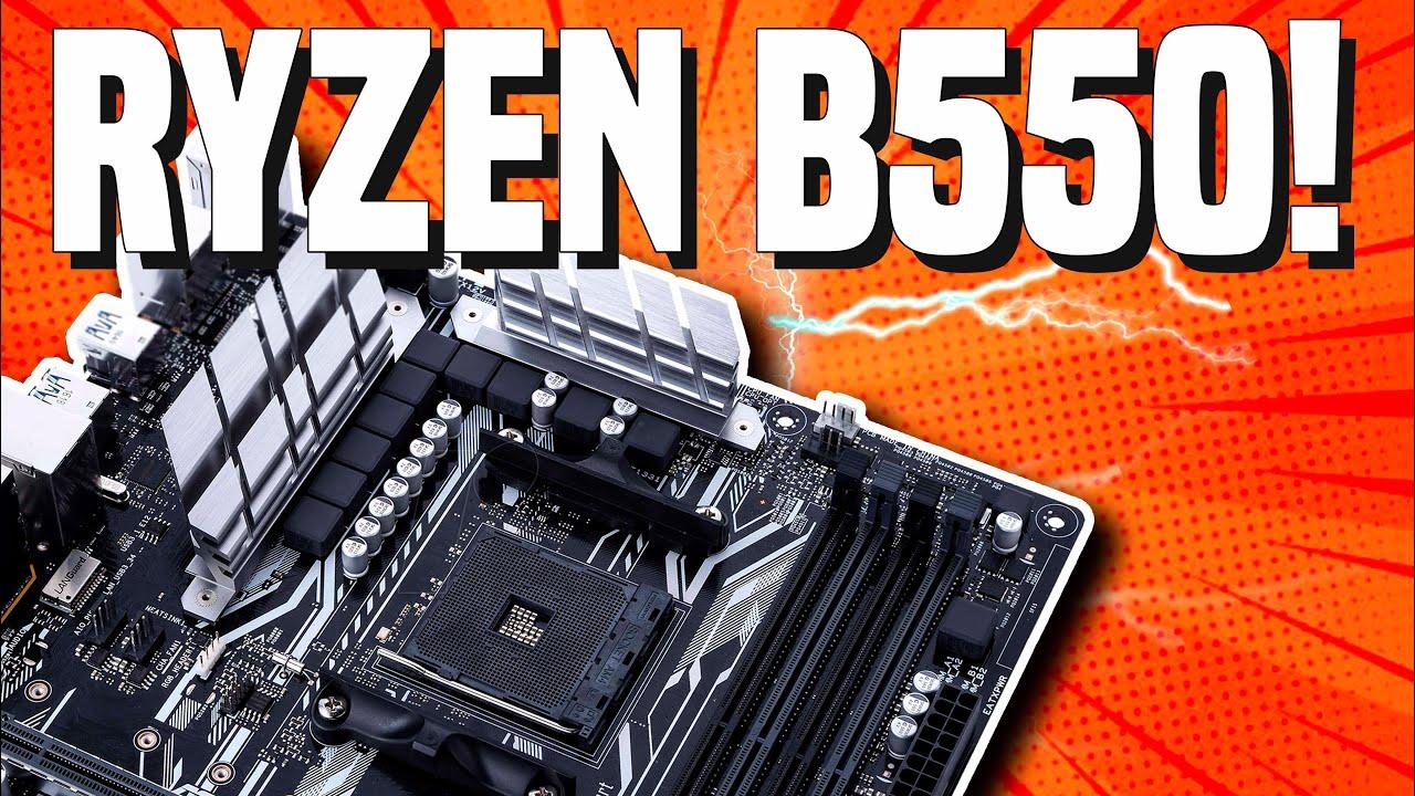 Amd Ryzen B550 Motherboard S Coming Soon Release Date Chipset Specs Price Youtube