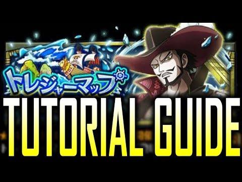 TUTORIAL TREASURE MAP / ADVENTURE MODE GUIDE | One Piece Treasure Cruise | トレクル トレジャーマップ