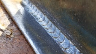 How to lay dimes mig welding!