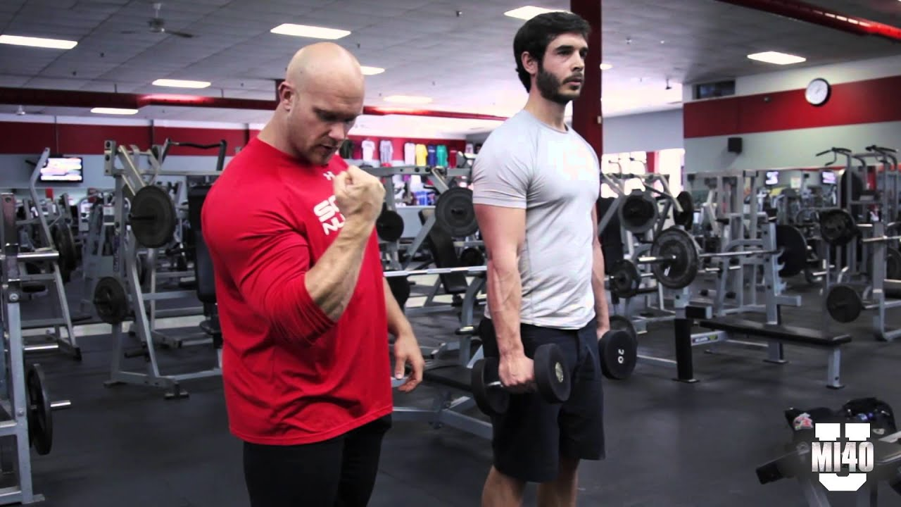 Biceps Training for Big Arms with Ben Pakulski and Brandon Crowe