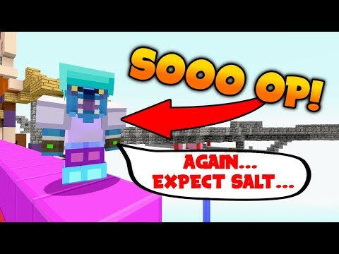 I AM SERIOUSLY OP!! (Still get salty!) // BABYBLOCK SKYWARS - Minecraft XBOX