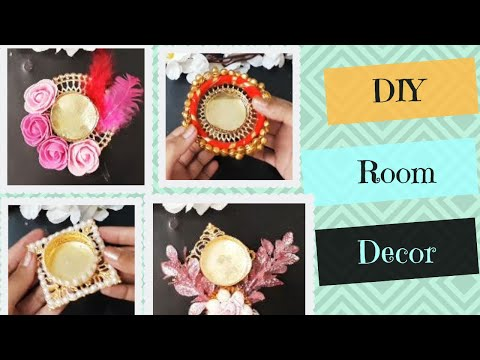 5 Easy DIY Diwali Decorations - Diwali Decoration Ideas -  DIY Tealight candle holders #diwali2019