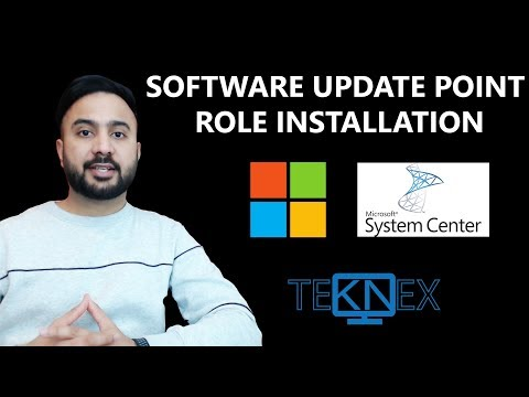 Part 22 - Software Update Point Role Installation And Configuration