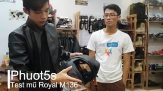 Test nón Royal Fullface M136