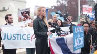 Jessica Haas Speaks & Performs For Supreme Court