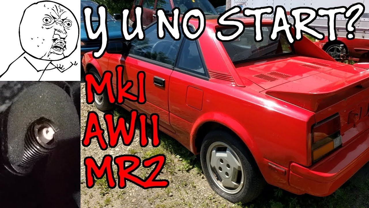 Toyota Mr2 Mki Aw11 Diagnosing No Start Condition Bad Fuel Engine Wiring Diagram 85 Pump