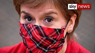 Sturgeon 'misled parliament' over role in Salmond investigation