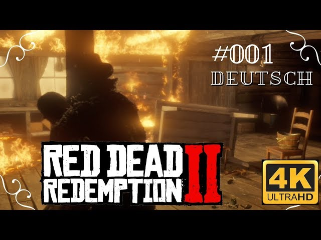 Red Dead Redemption II in 4k - #001 - Colter [Deutsch, ohne Werbung, 4k, UHD, PS4Pro]