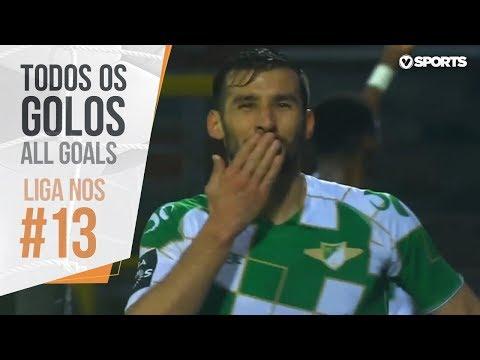 All goals - Portuguese league 2018/2019 - week 13