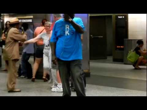 Morning Dance in Penn Station