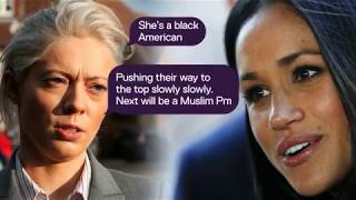 UKIP leader's girlfriend slammed for racist texts about Meghan Markle | 5 News