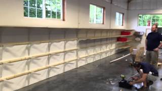 Storage Shelves -  Major Speedbrace Project